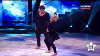 Танцы со звёздами (21.02.2015). Ирина Пегова и Андрей Козловский.