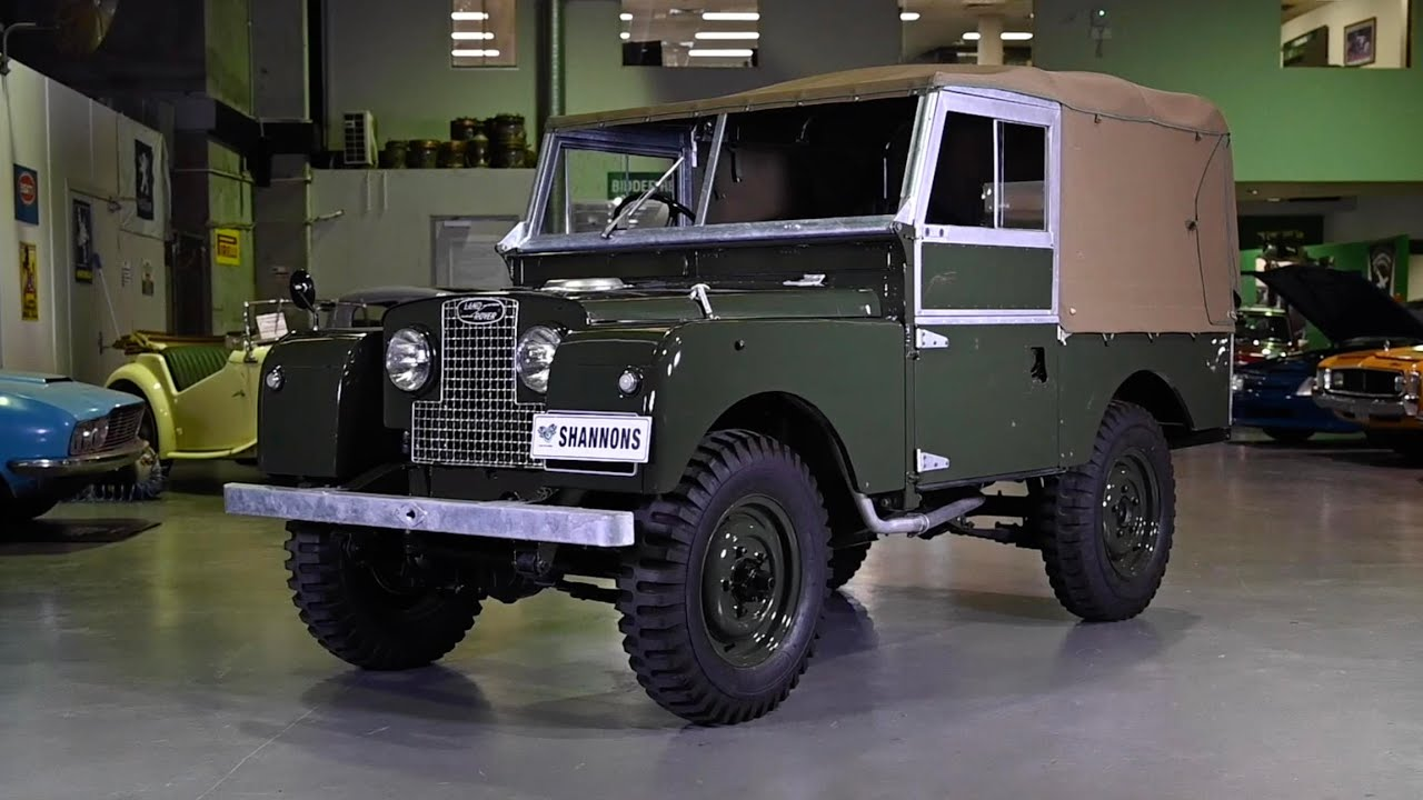 1954 Land Rover Series 1 86 SWB Utility - 2020 Shannons Sydney Summer Classic Auction
