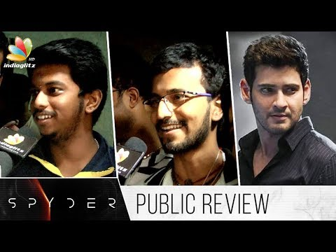 Spyder Tamil Movie Public Review | Mahesh...