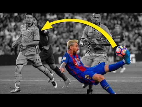 Lionel Messi pase de chilena y humillación al portero Barcelona vs Sampdoria 10.08.2016