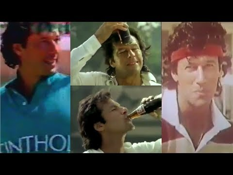 A look at some of the advertisements by Imran Khan   PakiXah