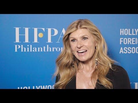 HFPA Grants Banquet 2018 Lounge: Connie Britton