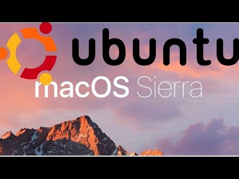 HOW TO RUN MAC OS SIERRA ON UBUNTU 17.04 / EASY 2017 WALKTHROUGH  (WITH DOWNLOAD LINKS)