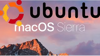 HOW TO RUN MAC OS SIERRA ON UBUNTU 17.04 / EASY 2017 WALKTHROUGH  (WITH DOWNLOAD LINKS)