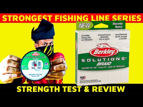 Fishing Line Strength Test : Berkley Solutions Braid || S03E03