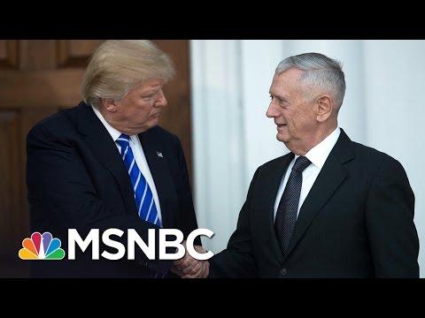 Ex-Officer: James Mattis Left 'My Men To Die' In Afghanistan | MSNBC