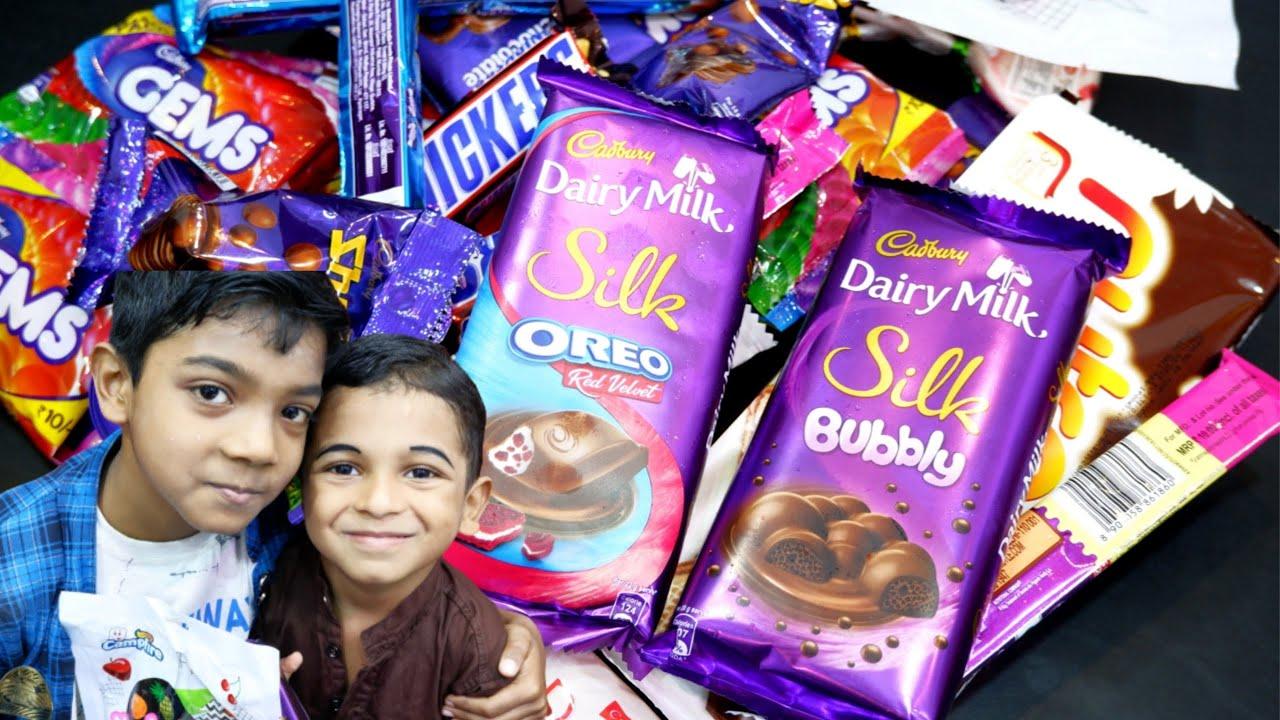 Nahiyan and Salman staged a chocolate challenge