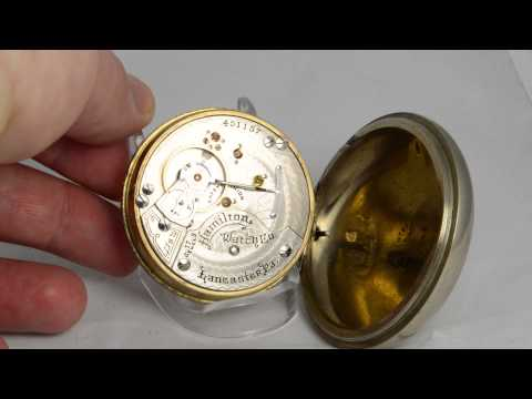 illinois pocket watch serial number dating