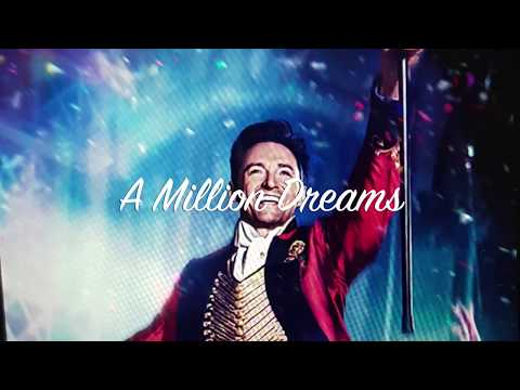 Mix - A Million Dreams (lyrics)by Ziv Zaifman,Hugh Jackman & Michelle Williams