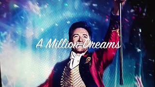 Gambar cover A Million Dreams (lyrics)by Ziv Zaifman,  Hugh Jackman & Michelle Williams