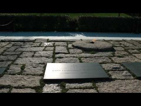 Kennedy Gravesites--Arlington National Cemetery
