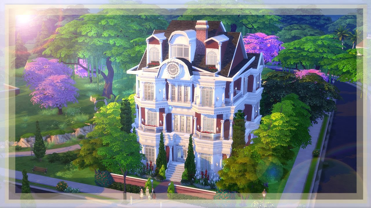 The sims 4 build l london dream house youtube for Dream house builder