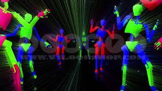 Dance Robot - VJ Loop Pack (8in1)