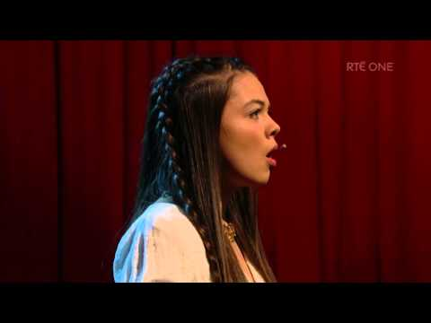 """Sibeal Ni Chasaide - """"Mise Éire""""   The Late Late Show   RTÉ One"""