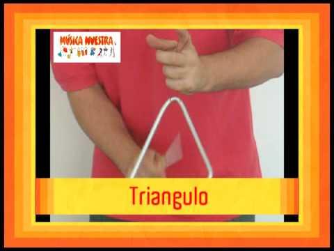 MUSICA NUESTRA - MUSICA PARA CHICOS Y NO TAN CHICOS - INSTRUMENTOS: TRIANGULO