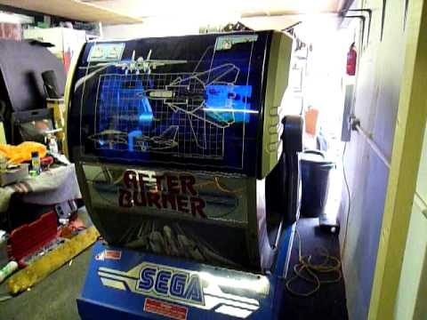 After Burner 2 sit down deluxe working plus parts, motors ...