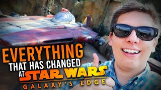 Everything that's Changed at Galaxy's Edge since it's Opened! | New Prices, Food, & Future Updates