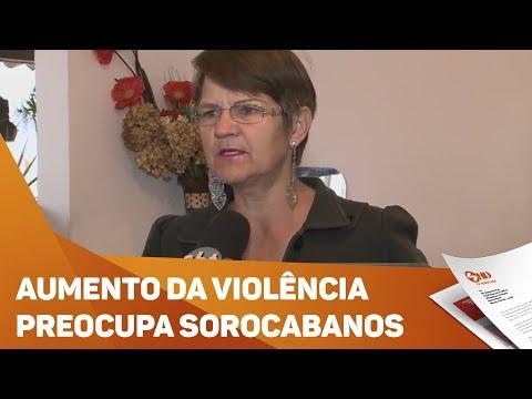 Moradores de Sorocaba reclamam de aumento da violência - TV SOROCABA/SBT