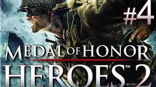 Medal of Honor: Heroes 2 - Mission 4: Through the Sewers walkthrough (Wii, PSP)