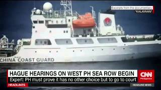 The Hague hearings on West PH Sea row begin