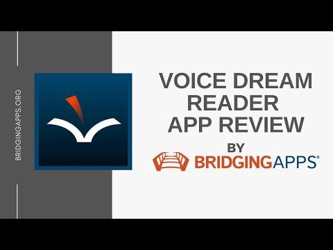 Voice Dream Reader App Demo