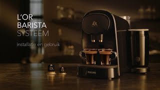 Lo'r Barista - How to set up and use with milkfrother