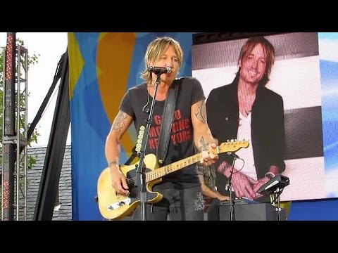 Keith Urban - Blue Ain't Your Color live...