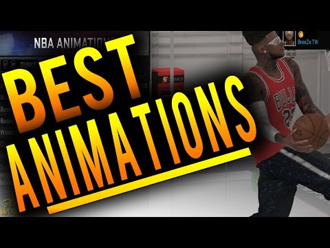 NBA 2K16 Tips: Best ANIMATIONS in MyCareer - Best Jumpshots, Dunk Packages, Dribble Moves in 2K16!