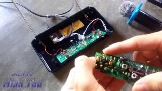 Sửa Micro không dây MẤT TÍN HIỆU - Hướng dẫn chi tiết nhất CHẾ MICRO XỊN