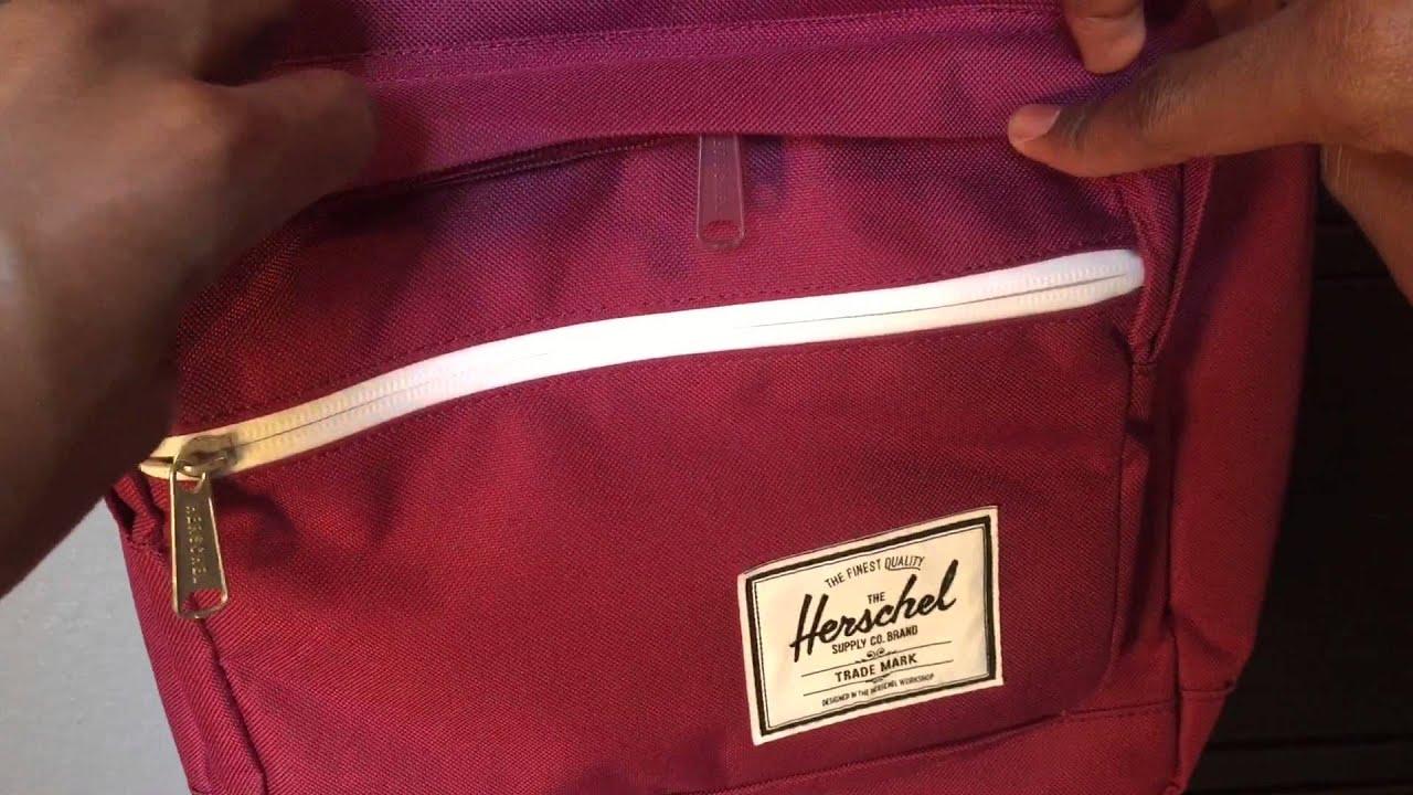 Herschel Supply Co. Pop Quiz Backpack Review - YouTube