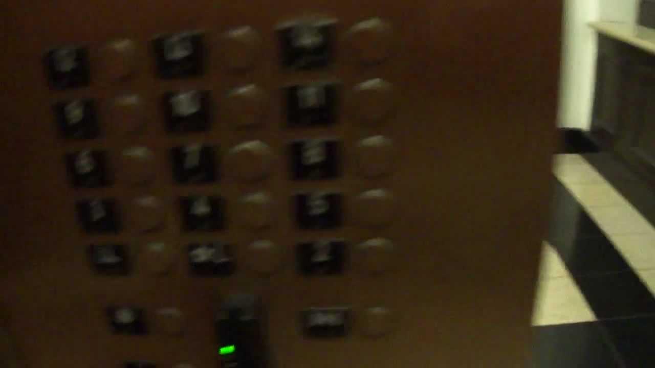 Epic Fail Otis Elevator at the Hilton Garden inn Washington DC - YouTube