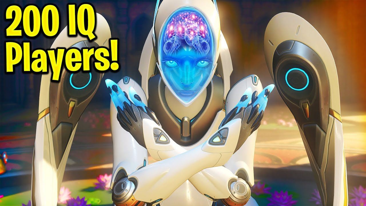 How 200 IQ Overwatch Players WIN GAMES!