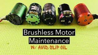 Brushless Motor Maintenance | Oiling 1:10 scale RC Car Motor