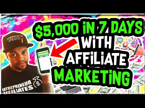 $5,000 + Made in 7 Days With Affiliate Marketing with NO Following! Journey to Super Affiliate!