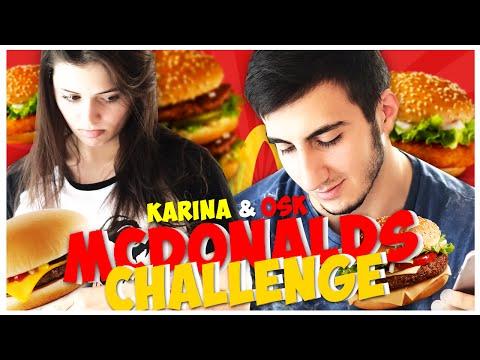 MCDONALDS CHALLENGE!!  УБИЙСТВЕННЫЕ БУРГЕРЫ