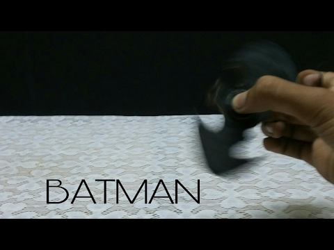 How to make batman logo fidget spinner | FIDGET SPINNER | KMA Insane Hacker