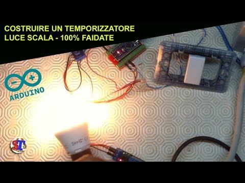 Timer Luci Scale Prezzo.Come Costruire Un Timer Luce Scale Con Arduino 100