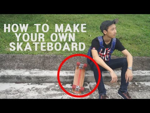 How to make your own skateboard (cruiserboard)