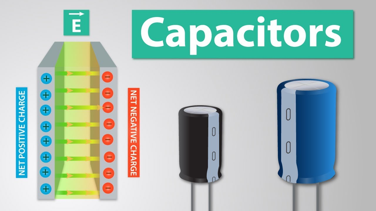 how a capacitor works capacitor physics and applications youtube