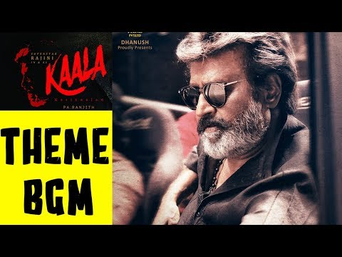 Kaala Telugu THEME BGM BackGround Music Rajinikanth Huma Qureshi