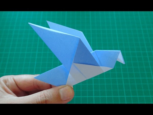 Simple Origami Bird (Easy Beginner Tutorial) | Origami Made Simple | 480x640