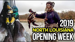 Louisiana Opening Week 2019 with Phil and Jase Robertson