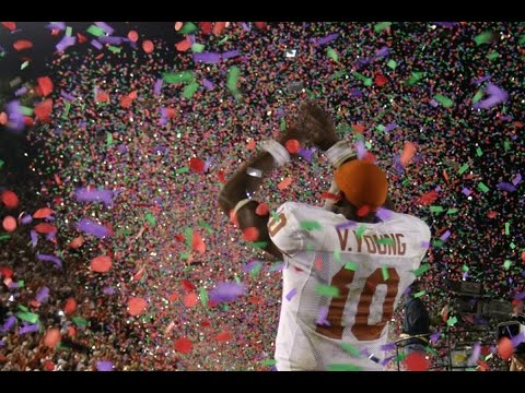 Final Seconds of last 25 College Football National Championships