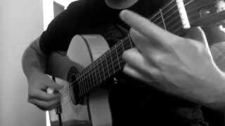 Motorbreath Metallica - Flamenco Guitar Ben Woods - Flametallica