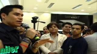 Repeat youtube video Video del Momento en el que censuran a Toño Esquinca por hablar de Peña Nieto