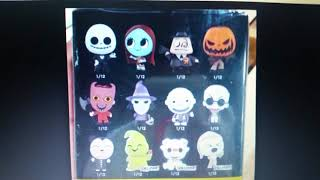 A New Nickelodeon Mystery Mini Figure, And An Exclusive At Nightmare Before Christmas Minis!