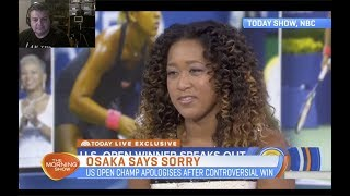 Naomi Osaka Explains Why She Apologised to Serena Williams' Fans