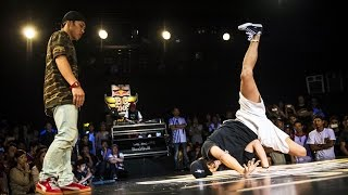 Bboy Nori vs Bboy Vero- Quarterfinal - Red Bull BC One Asian Pacific Final 2015