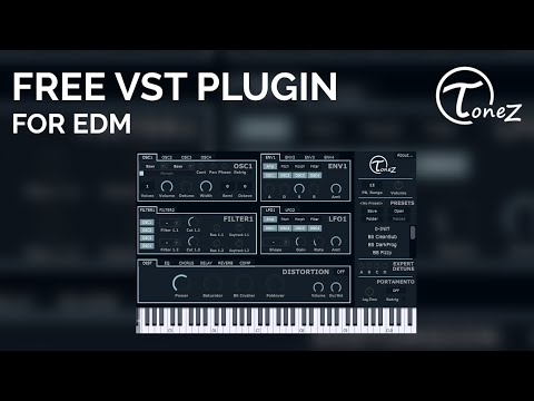 ToneZ by T0NIT0 RMX | Free VST Plugin for EDM