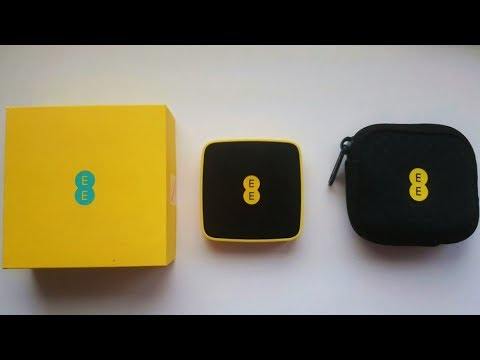 EE 4GEE WiFi Mini Portable WiFi Hotspot: Unboxing, review + setup guide